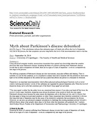 Parkinsons Research Copenhagen Page 1