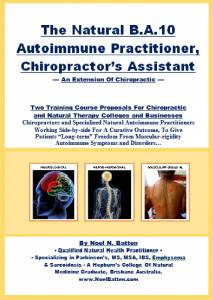 The Natural B.A.10 Autoimmune Practitioner, Chiropractor's Assistant eBook-0
